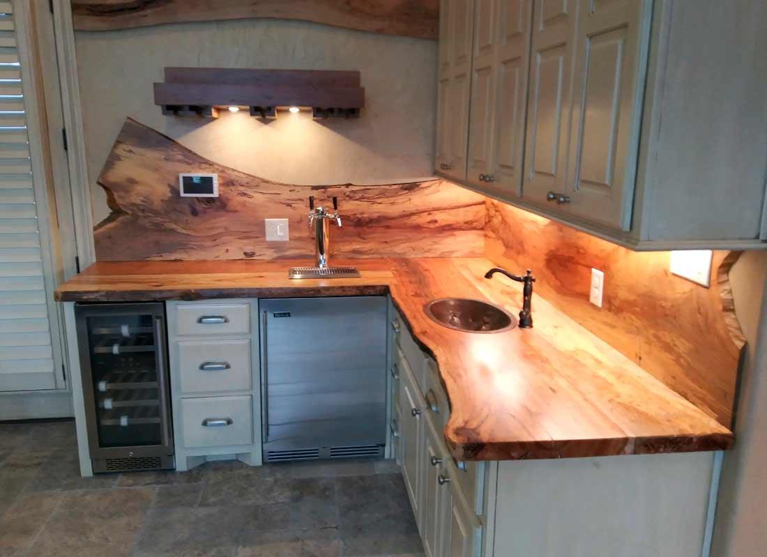 Countertops01 Texas Pecan Wood