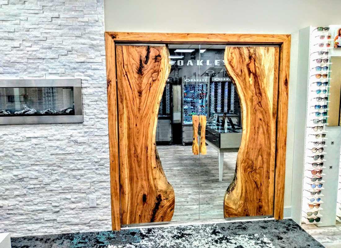 Doors04 Texas Pecan Wood