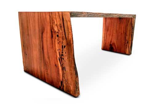 Custom Wood Desks Texas Pecan Wood 01