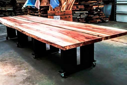 Gallery of Custom Wood Tables Texas Pecan Wood 02